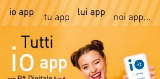 Tutti IO app con PA Digitale S.p.A.
