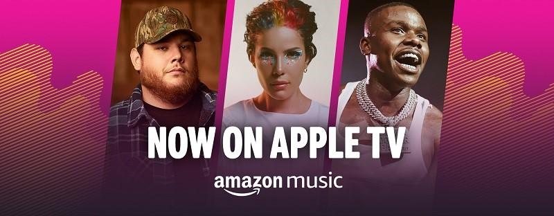 Amazon Music sbarca su Apple TV