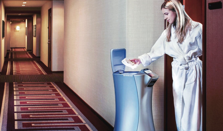 Robot: arriva il servizio in camera 4.0