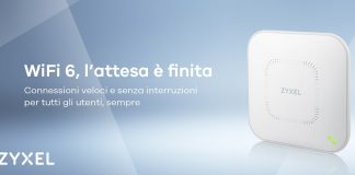 Zyxel: nuova serie di Access Point WiFi 6 (11ax)