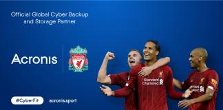 Liverpool Football Club sceglie Acronis