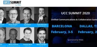 Wildix vola a Barcellona e Dallas per l'Unified Communications Summit 2020