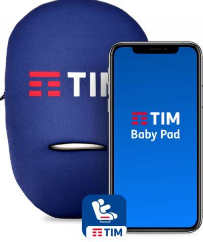 TIM BabyPad, il dispositivo per rilevare la presenza di un bambino sul seggiolino