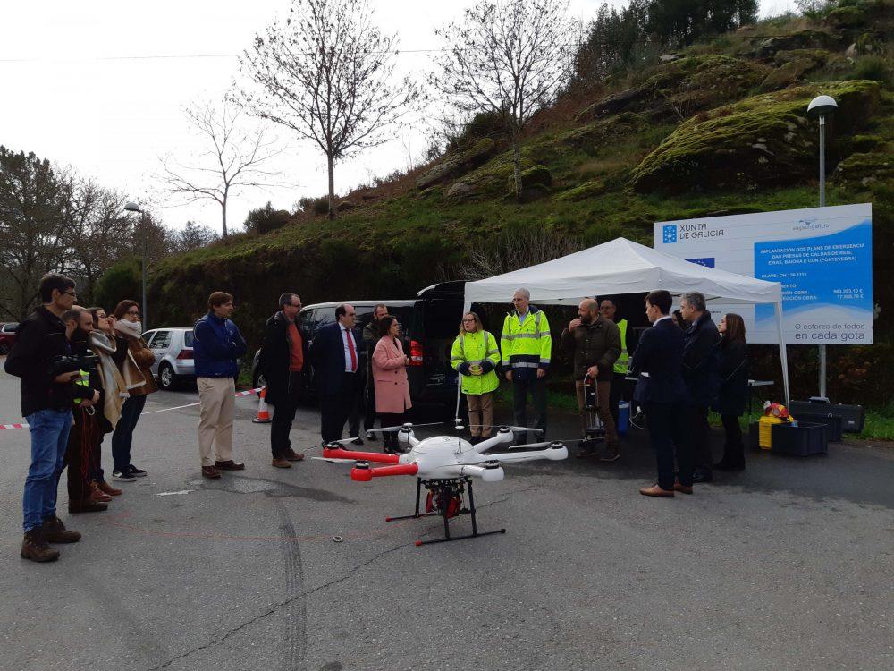 Indra testa il primo drone ambientale per la protezione di fiumi e zone costiere