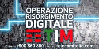 """TIM: oltre 20 nuovi partner per """"Operazione Risorgimento Digitale"""""""