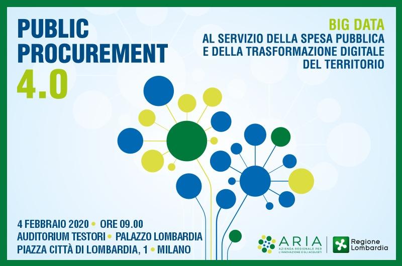 Public Procurement 4.0: big data al servizio della spesa pubblica e della trasformazione digitale del territorio