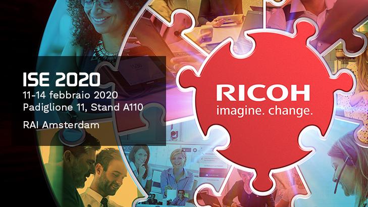Le soluzioni Ricoh per la Collaboration a ISE 2020