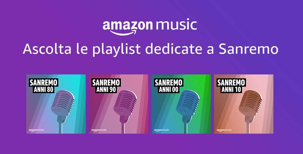Amazon.it: tutto pronto per Sanremo 2020