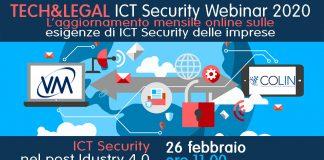"VM Sistemi organizza il webinar ""ICT Security nel post Industry 4.0"""