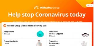 Coronavirus: Alibaba lancia una piattaforma per supportare i medici cinesi