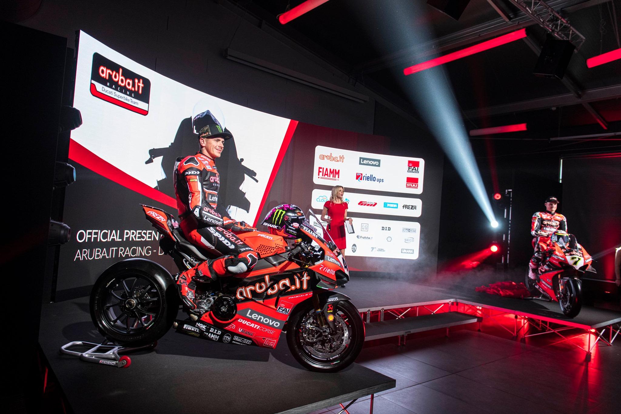 Lenovo, partnership con Aruba.it per la Superbike 2020 di Ducati
