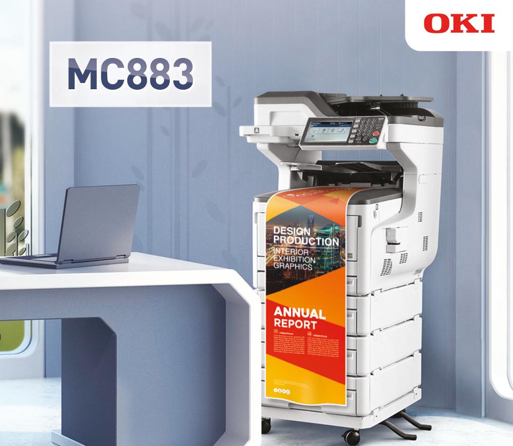 OKI Europe lancia il nuovo multifunzione MC883