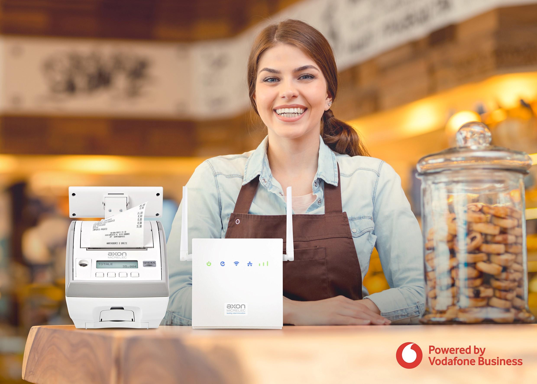 Accordo Vodafone Business e AP.esse per la connettività sicura ai punti vendita