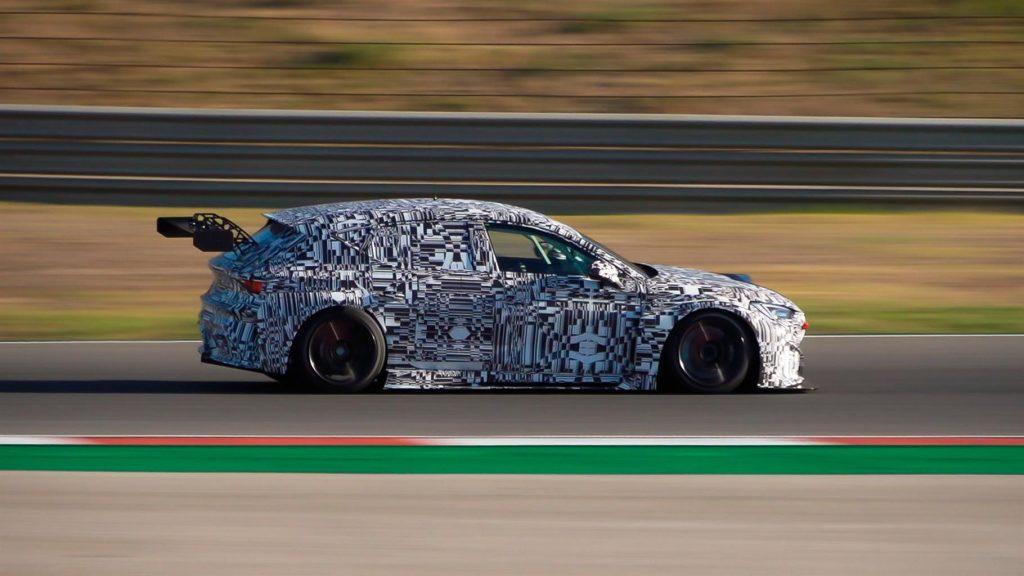 auto stampata in 3D per la pista