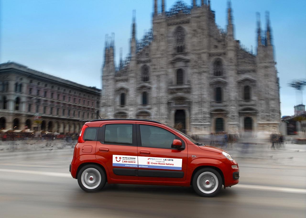 FCA Bank e Leasys insieme alla Croce Rossa Italiana contro l'emergenza Covid-19