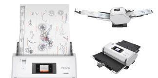 Nuovi scanner Epson A3 per acquisire fino a 40.000 pagine al giorno