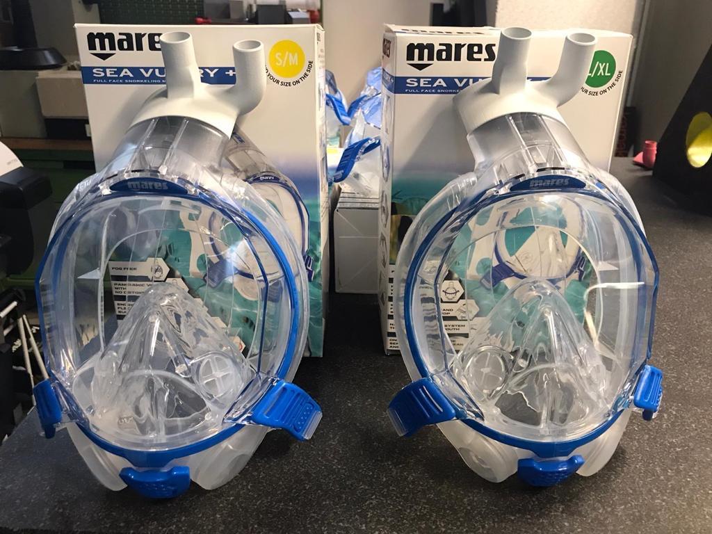 Covid-19: da Mares una maschera riadattata a respiratore con la stampa 3D