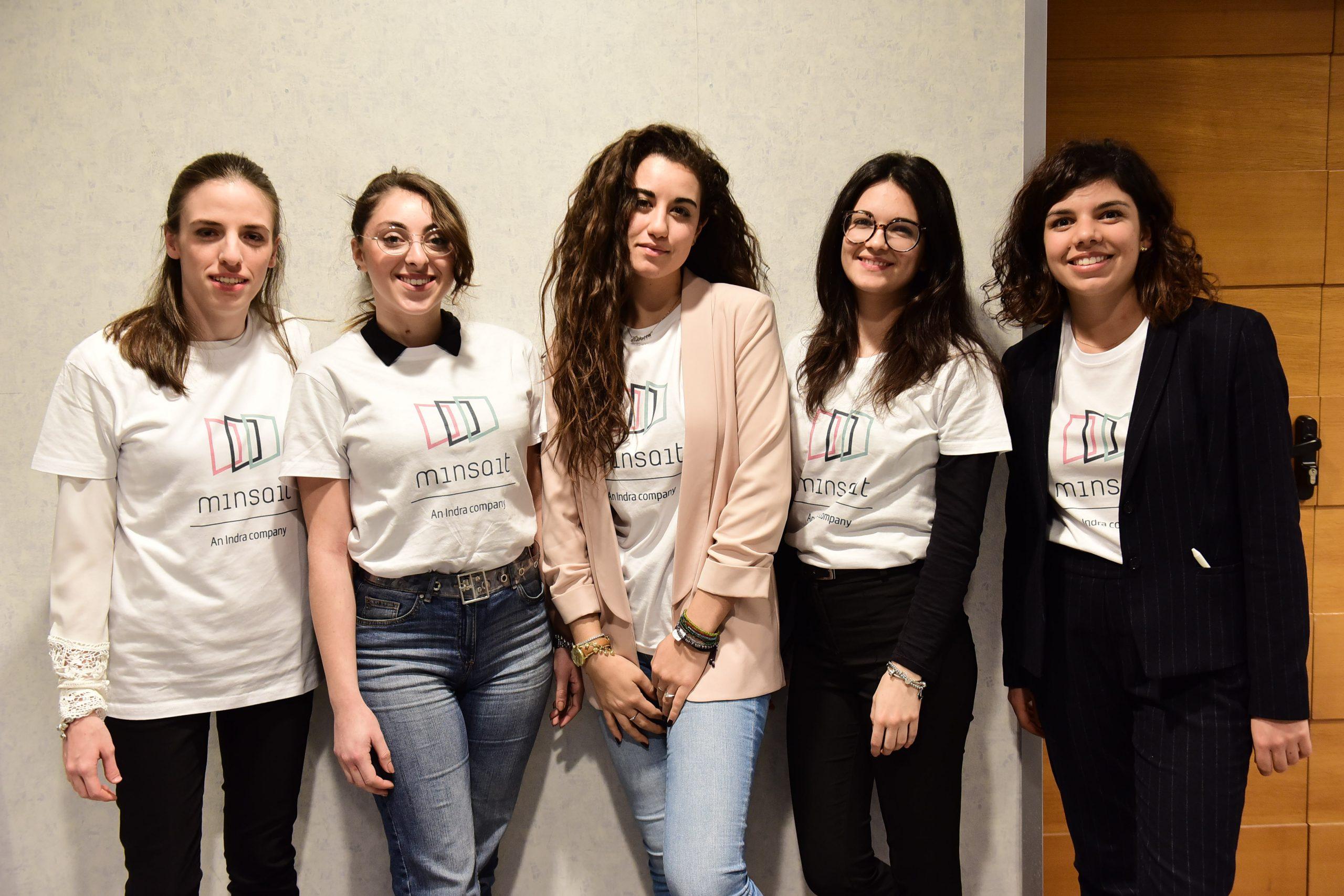 Indra premia a Roma studentesse LUISS in occasione del suo Hack Day al femminile