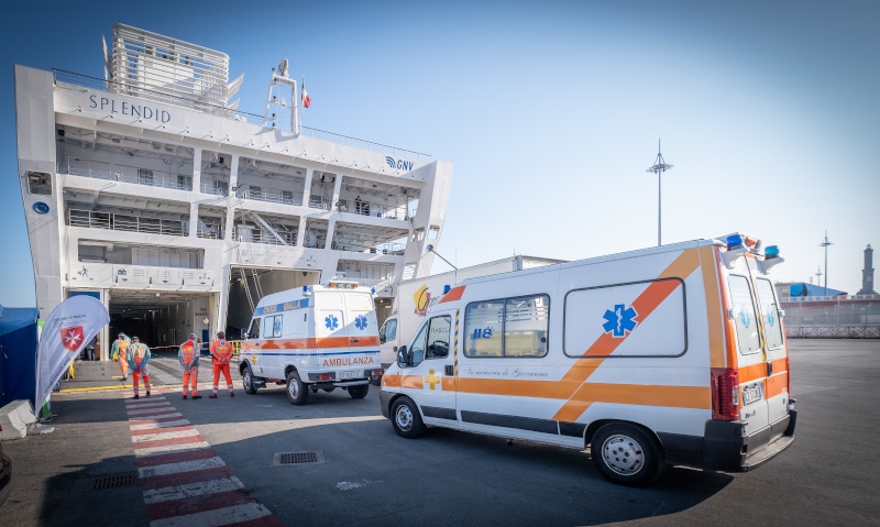 Covid-19: HPE Aruba ha donato l'infrastruttura di rete per la nave ospedale creata da GNV