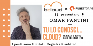 "BCLOUD & Pure Storage organizzano il webinar ""Tu lo conosci cloud?"""