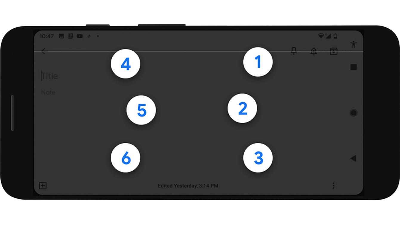 Come attivare la tastiera braille su Android