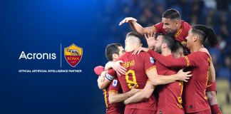 "Acronis sarà ""Official Artificial Intelligence Partner"" dell'A.S. Roma"