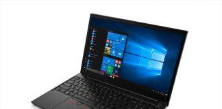 I laptop Lenovo ThinkPad presto disponibili con tecnologia AMD Ryzen 4000 Series