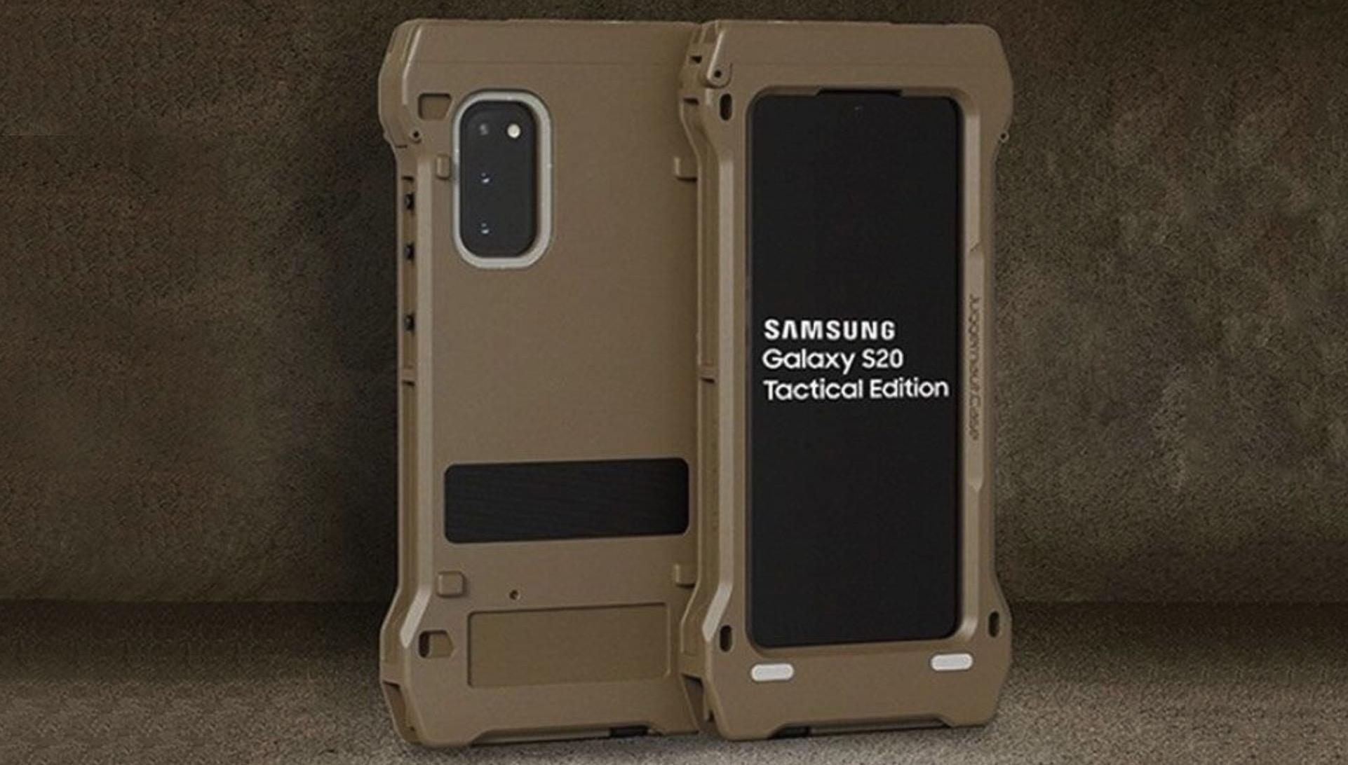 Samsung lancia il Galaxy S20 TE, smartphone rugged