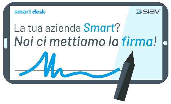 Siav presenta Smart Desk per favorire i processi digitali paperless