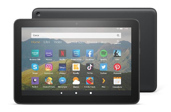 Amazon presenta il nuovo Fire HD 8