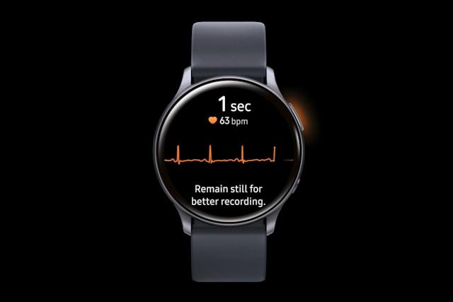 Samsung ottiene l'approvazione per l'ECG sul Galaxy Watch Active 2