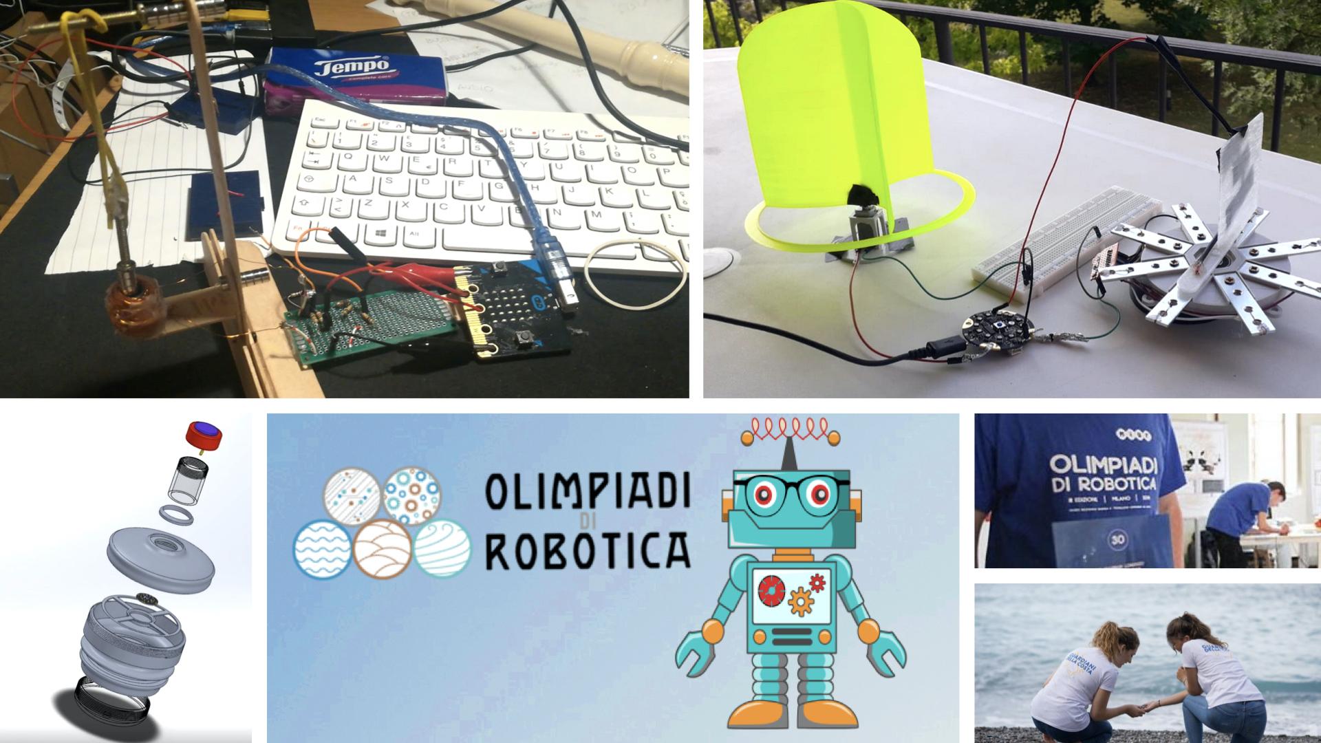 Olimpiadi di Robotica 2020, la finale in diretta streaming