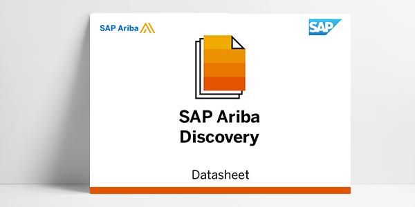 SAP estende l'accesso aperto a SAP Ariba Discovery