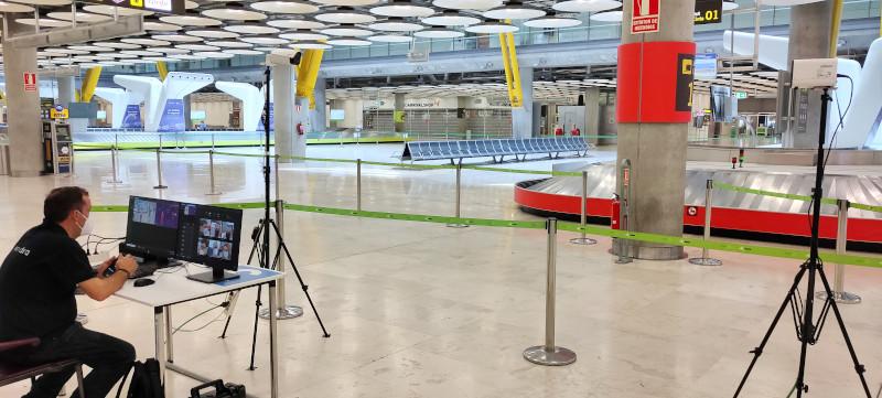 Indra installa sistemi di controllo della temperatura dei passeggeri in tredici aeroporti spagnoli