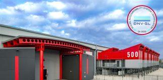 Il datacenter SUPERNAP Italia ottiene la certificazione SA 8000