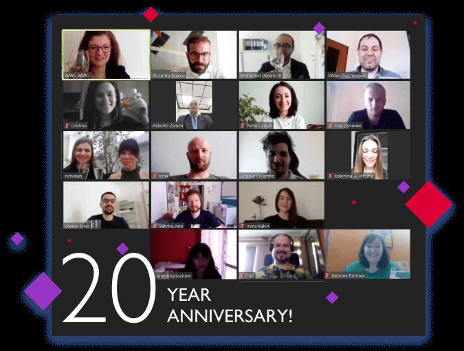 WWG festeggia 20 anni di attività e… cambia tutto!
