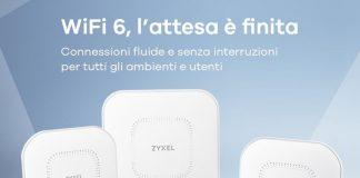 Zyxel presenta un portafoglio di Access Point WiFi 6 di livello enterprise