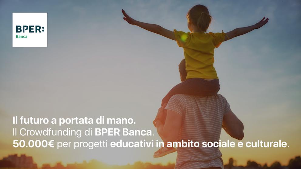 BPER Banca, parte il crowdfunding per i progetti vincitori del bando