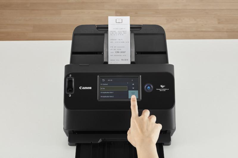 Canon, nuovo scanner ultra-compatto con flessibilità di connessione per le piccole aziende