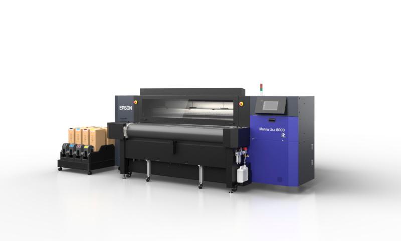 Monna Lisa 8000: il nuovo standard per la qualità dell'immagine nella stampa tessile