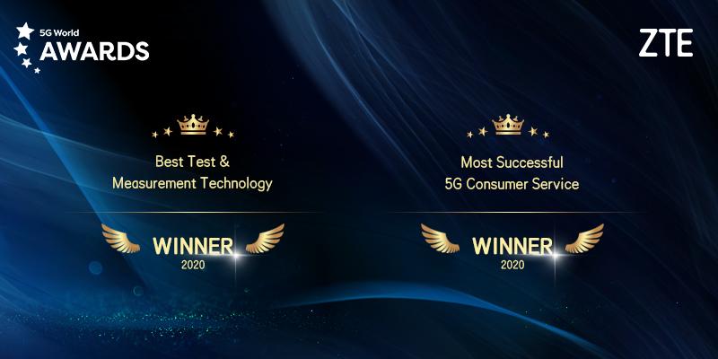 ZTE premiata al 5G World 2020