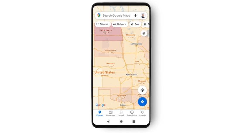 Google Maps adesso ha un livello di visualizzazione Covid-19