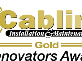 Rosenberger OSI riceve il Gold Rating Cabling Installation & Maintenance Innovators Awards 2020