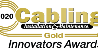 Rosenberger OSI riceve il Gold Rating Cabling Installation & Maintenance Innovators Awards 2020