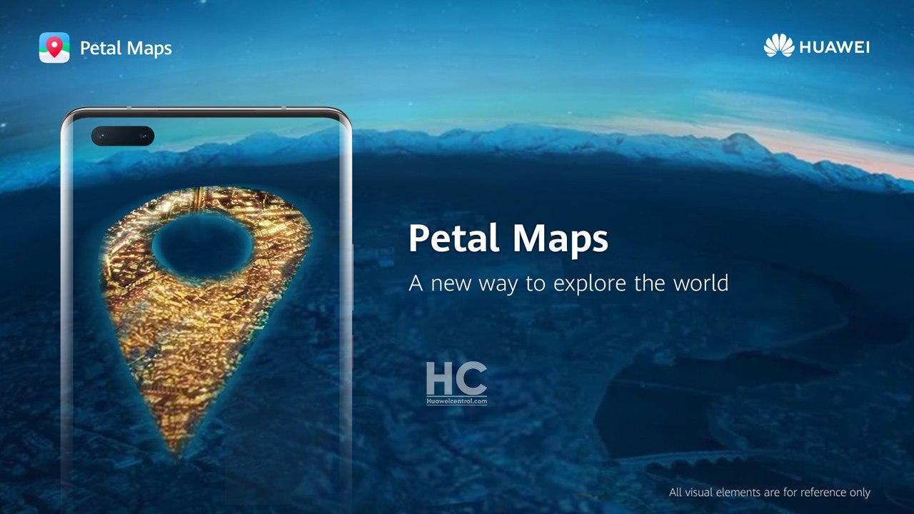 Huawei lancia Petal Maps, il rivale di Google Maps