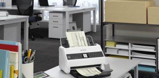 Con lo scanner Epson WorkForce DS-730N, più efficienza e meno carta