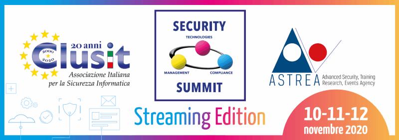 Il Presidente dell'Autorità Garante per la protezione dei dati personali interviene a Security Summit