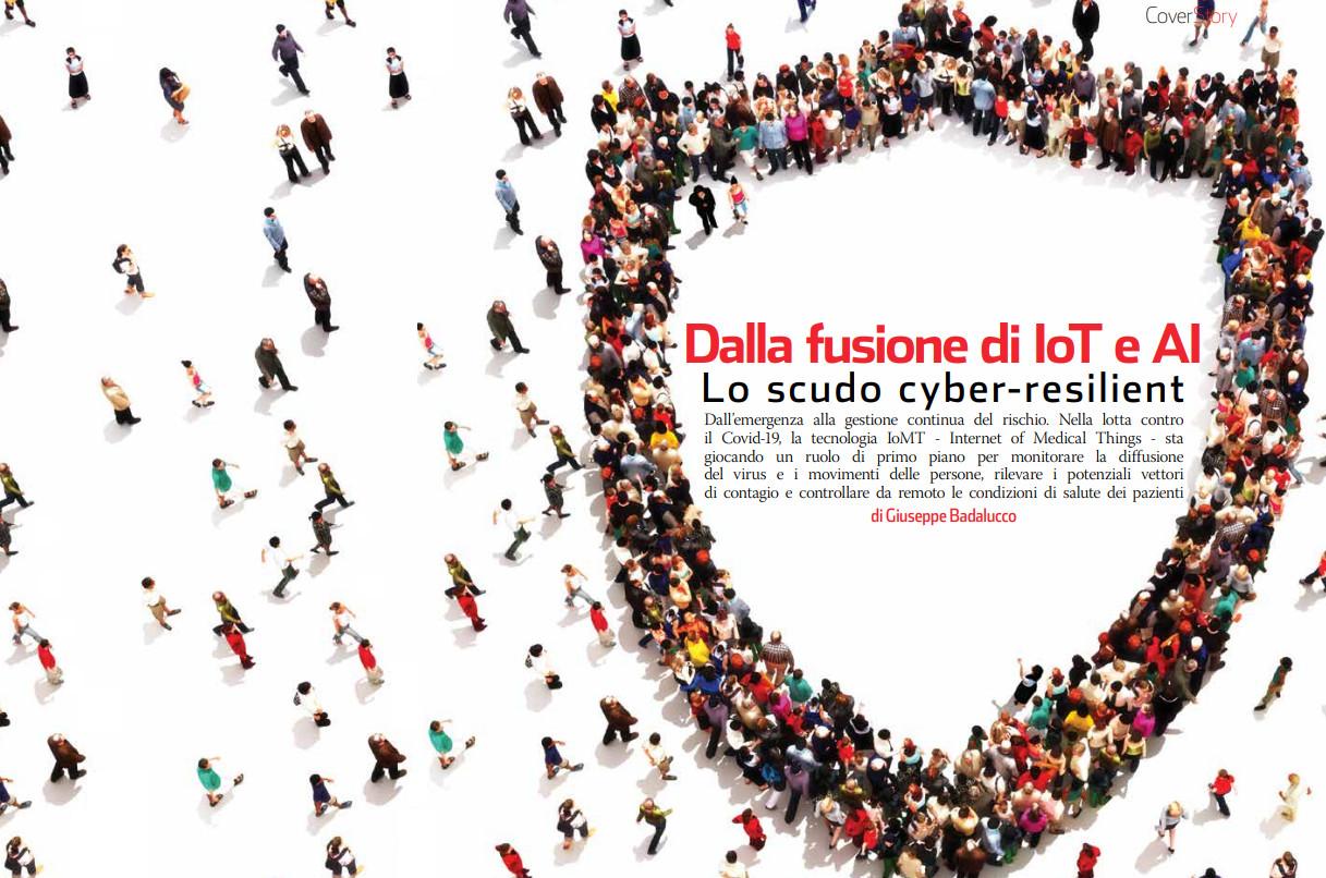 Dalla fusione di IoT e AI lo scudo cyber-resilient
