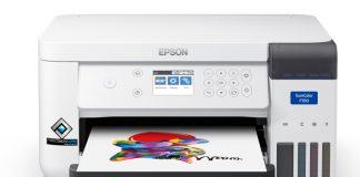 Epson SC-F100, la prima stampante A4 a sublimazione della gamma SureColor