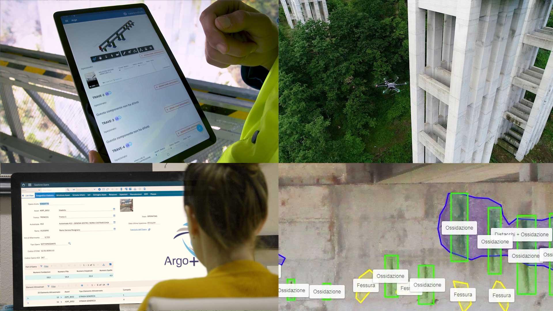 Al via il sistema per il monitoraggio delle infrastrutture di Autostrade per l'Italia basato su AI e IoT